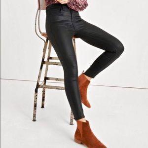 Lucky Brand Bridgette Skinny Jeans - Faux Leather